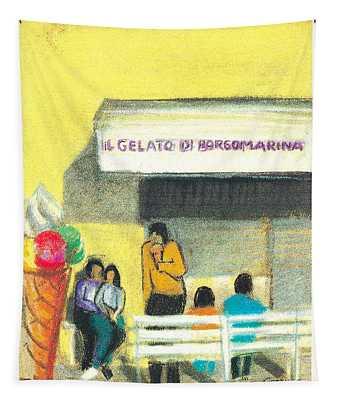 Il Gelato De Borgo Marina Tapestry