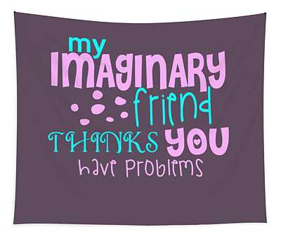 Imaginary Friend Tapestry