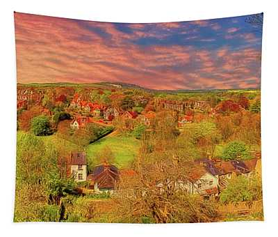 In Our English Towns Tapestry
