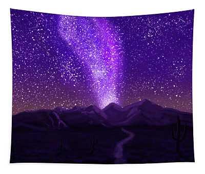In The Arizona Night Tapestry