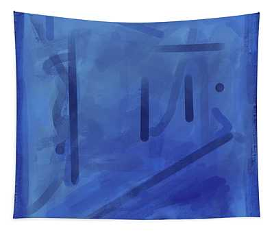 In The Blue Mist Tapestry
