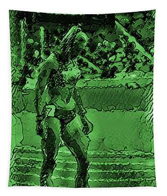 In The Green Zone Tapestry