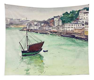 In The Harbor, 1928 Tapestry