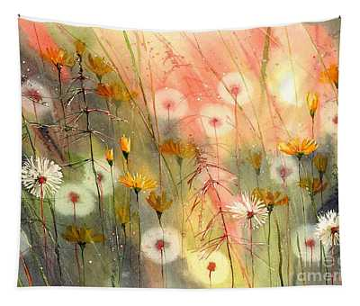 In The Morning Haze Tapestry