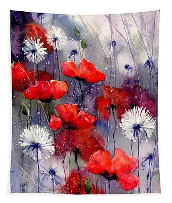 In The Night Garden - Sleeping Poppies Tapestry