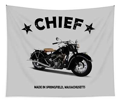 Indian Chief 1946 Tapestry