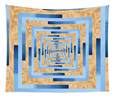 Infinity Tunnel Lake Mi Sand Dune Tapestry