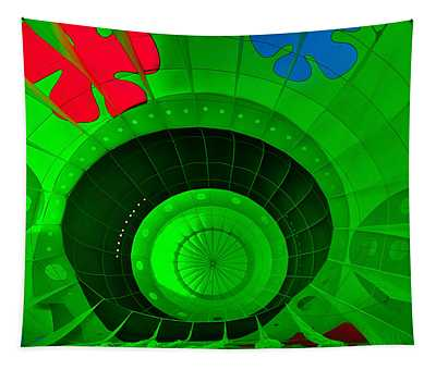 Inside The Green Balloon Tapestry