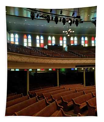 Inside The Ryman Tapestry