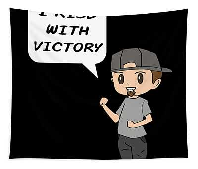 Inspirational Victorious Tee Design I Rise Tapestry