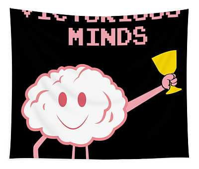 Inspirational Victorious Tee Design Victorious Mind Tapestry