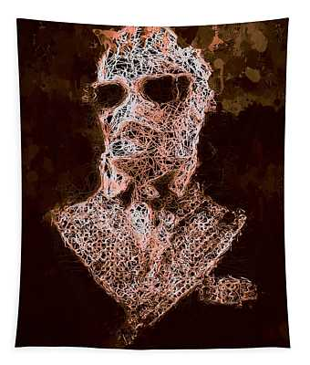 The Invisible Man Tapestry