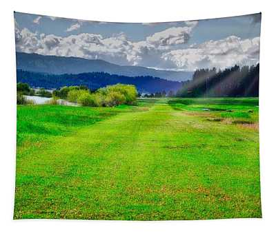 Inviting Airstrip Tapestry