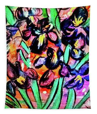 Iris Party Tapestry