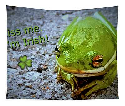 Irish Frog Tapestry