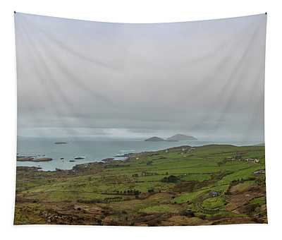 Irish Seascape In The Ring Of Kerry Tapestry