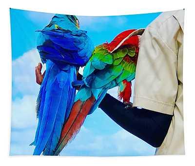 Island Birds  Tapestry