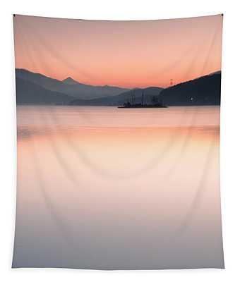 Island Sunrise Tapestry