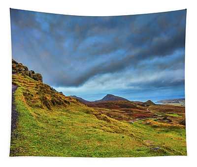 Isle Of Skye Landscape #i1 Tapestry