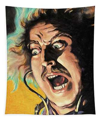Its Alive - Young Frankenstein Tapestry