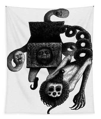 Jack In The Box - Artwork Tapestry