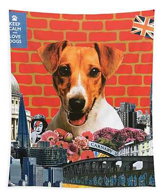 Jack Russel, 2015, Mixed Media Tapestry