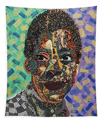 James Baldwin The Fire Next Time Tapestry