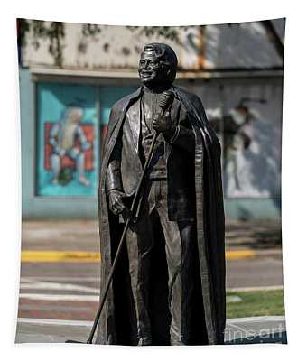 James Brown Statue - Augusta Ga 2 Tapestry