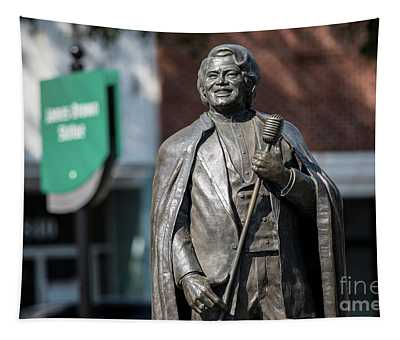 James Brown Statue - Augusta Ga Tapestry
