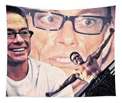 Jean-claude Van Damme Tapestry