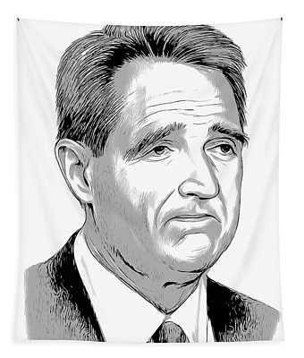 Jeff Flake 2 Tapestry