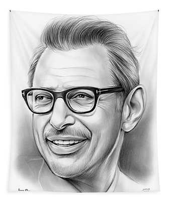 Jeff Goldblum 30dec18 Tapestry