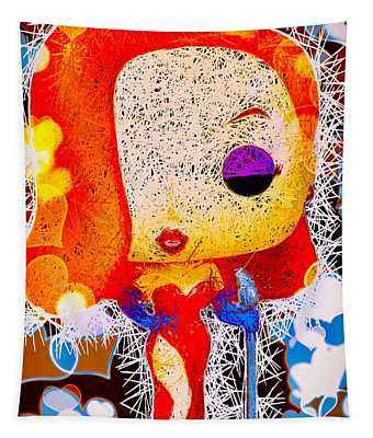 Jessica Rabbit Pop Tapestry