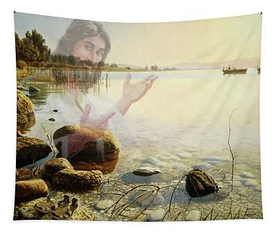 Jesus, Come Follow Me Tapestry