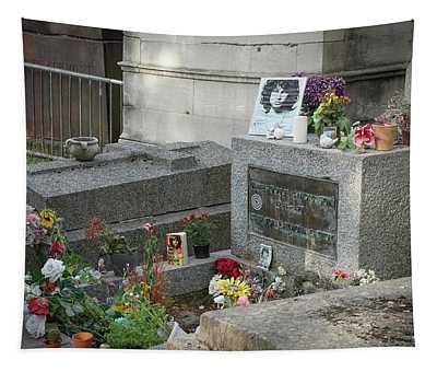 Jim Morrison's Grave Tapestry