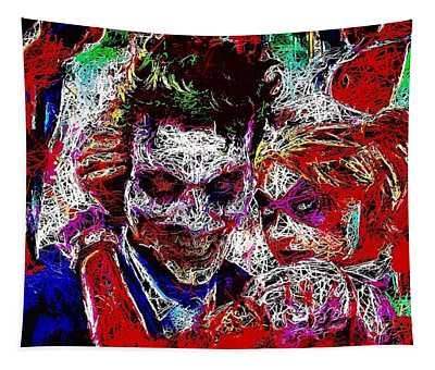 Joker And Harley Quinn 2 Tapestry