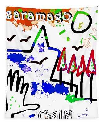 Jose Saramago Cain Poster  Tapestry