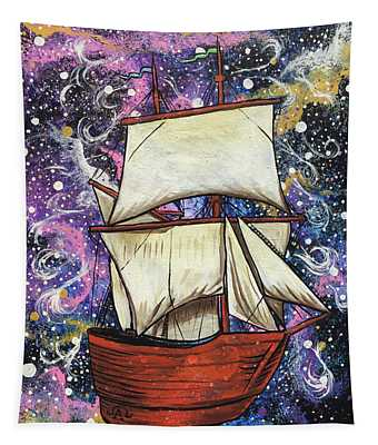 Journey Of Faith Tapestry