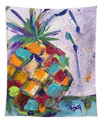 Juicy Pineapple Tapestry