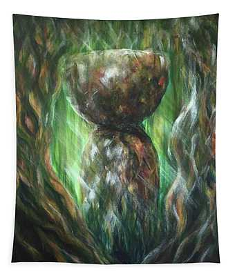 Jungle Latte Stone Tapestry
