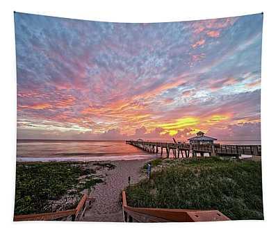 Juno Beach Pier Tapestry