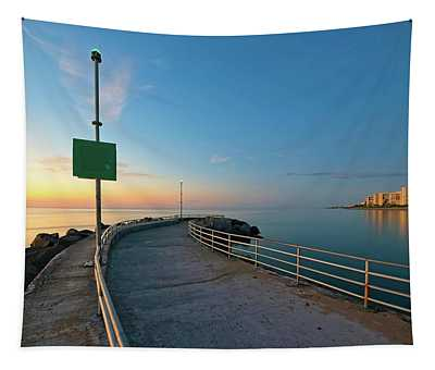 Jupiter Inlet Jetty Looking South Tapestry