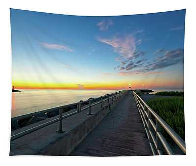Jupiter Inlet Morning Sky Tapestry
