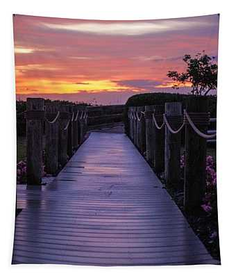 Just Another Day In Paradise Tapestry