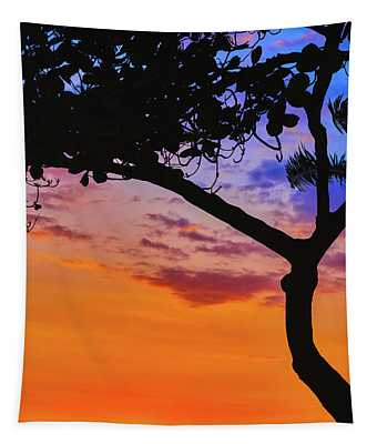 Just Another Kona Sunset Tapestry