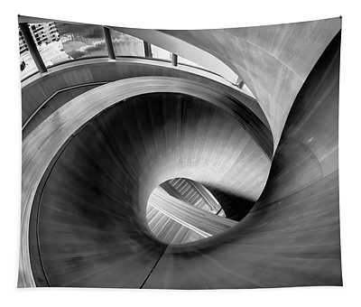 Just Beautiful Winding Wooden Stairs Tapestry