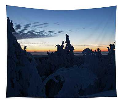 Just Before Sunrise Tapestry