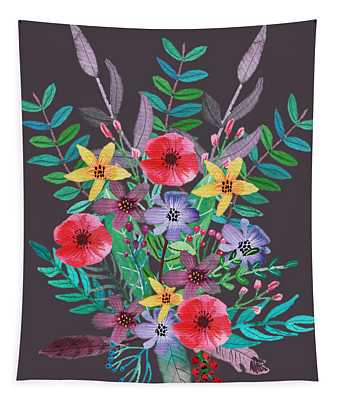 Just Flora II Tapestry