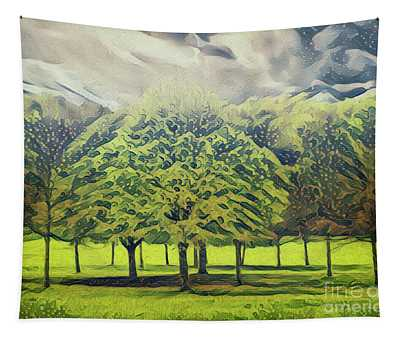 Just Trees Tapestry