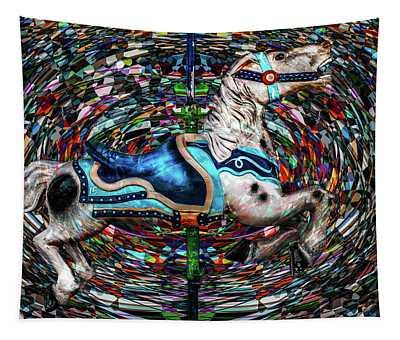 Kaleidoscope Carousel  Tapestry